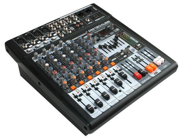 8 channels Professional Powered Mixer with USB interface