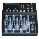 4 channel small Audio Mixer